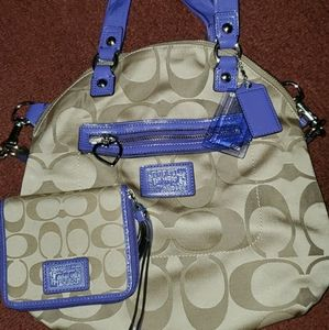 Coach Bag with Mini wallet